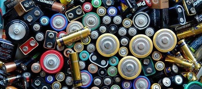 Прием батареек